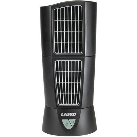 Lasko Desktop Wind Tower Fan in Black