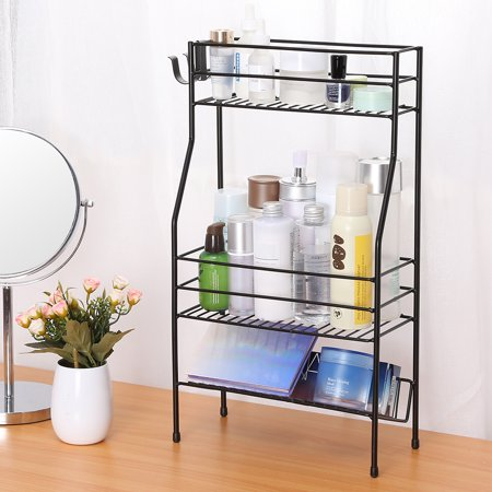 Terrific Rackaphile 3 Tier Kitchen Bathroom Countertop Organizer Standing Can Bottle Jar Storage Shelf Spice Rack Stand Holder Black Download Free Architecture Designs Scobabritishbridgeorg