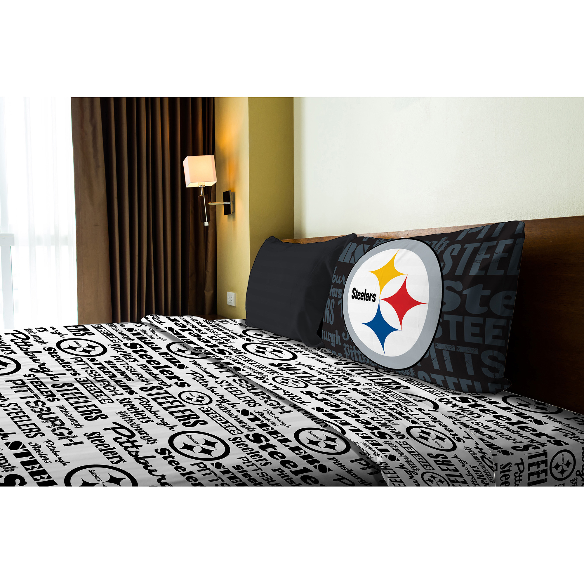 NFL Pittsburgh Steelers Sheet Set