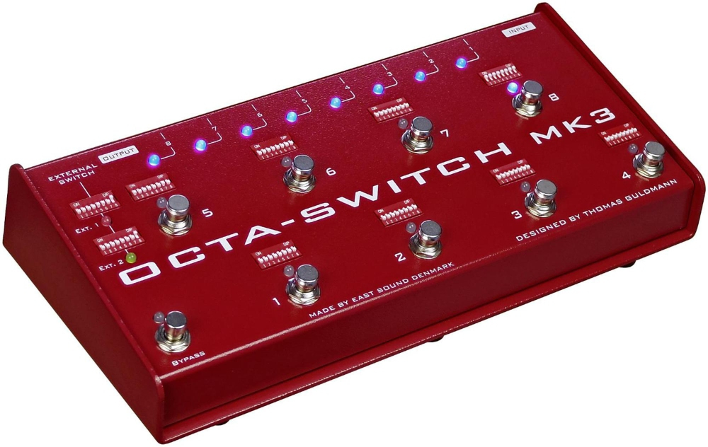 Carl Martin Octa-Switch MK3 Multi-Effects Looper by Carl Martin