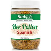 Stakich Natural Spanish Bee Pollen Granules, 1.0 Lb