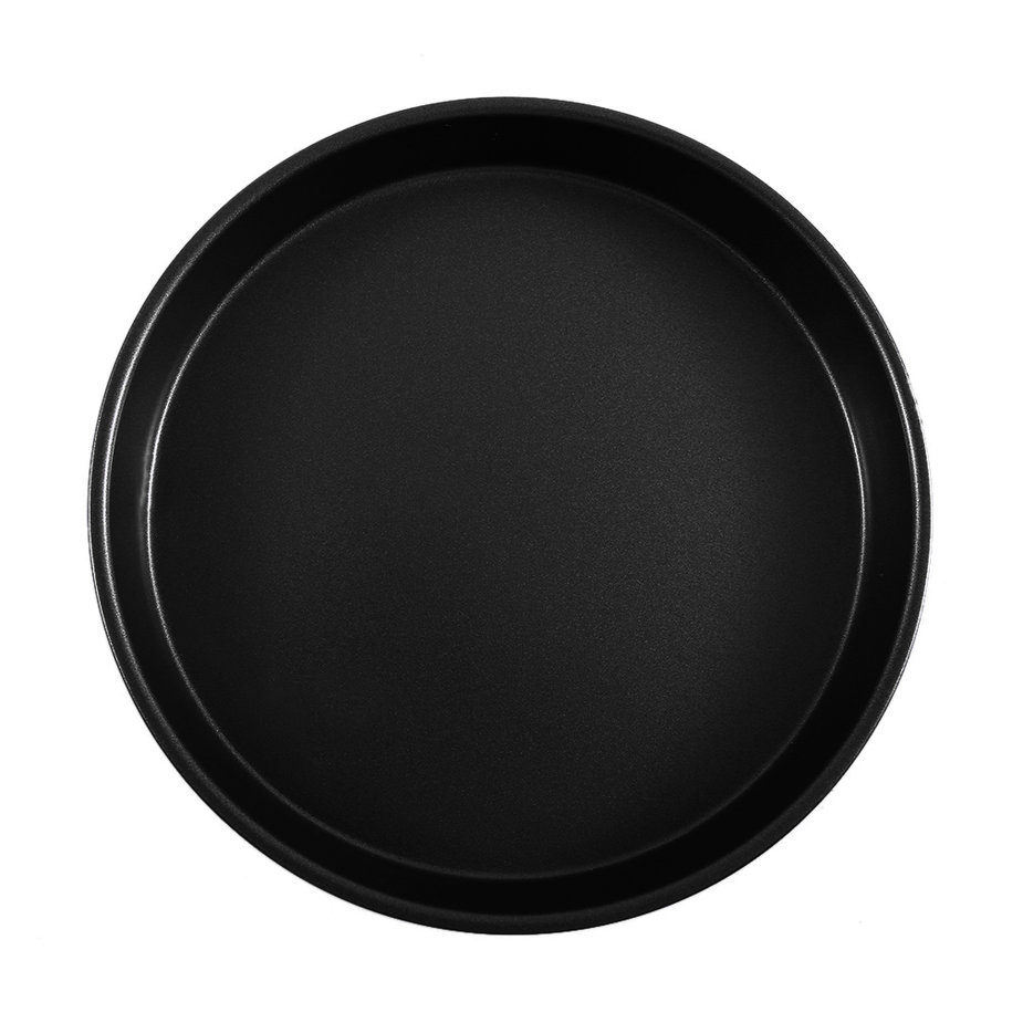 9 Inch Non-stick Iron Metal Round Shape House Pizza Pans For DIY Home Kitchen by YKS