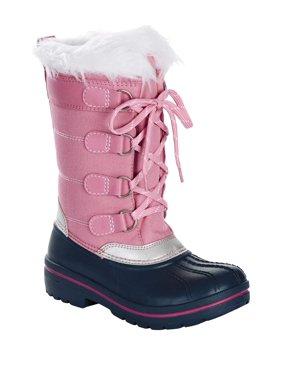 Wonder Nation Flurry Faux Fur Lined Snow Boot (Little Girls & Big Girls)