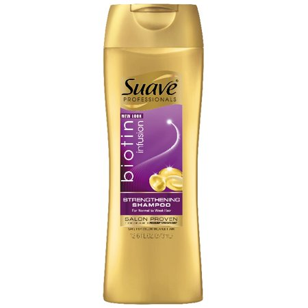 Suave Professionals Biotin Infusion Strengthening Shampoo, 12.6 oz