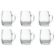 Tag Bubble Glass Beer Mug Set of 6 by TAG