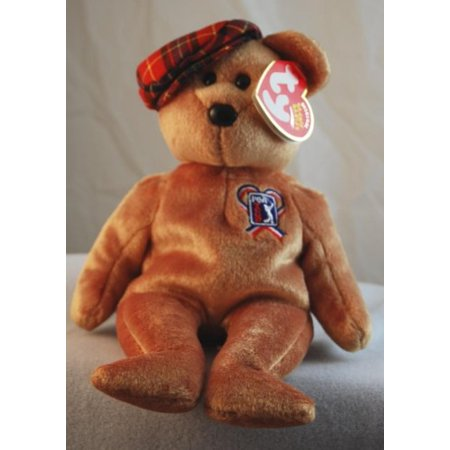 Ty Beanie Baby ChariTee the Bear Golf PGA Tour Exclusive, Official Ty Beanie Babies Product By Beanie Babies Teddy Bears