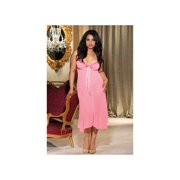 Queen Fashion Long Gown 20549X Pink