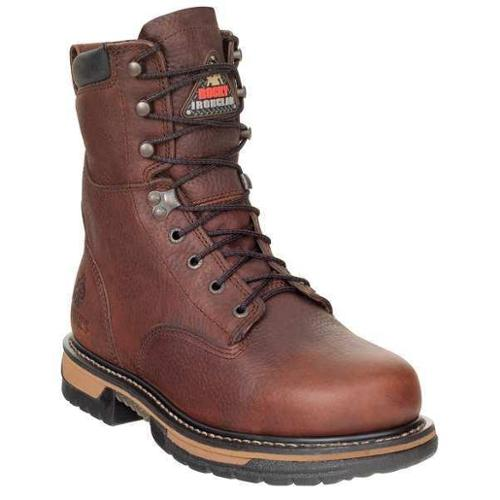 ROCKY FQ0006694 Work Boots,11,Medium,Waterproof,Brown,PR