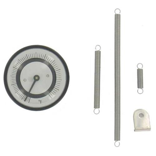 DWYER INSTRUMENTS BTP252 Bimetal Thermom, 2 In Dial, -40 to 120C