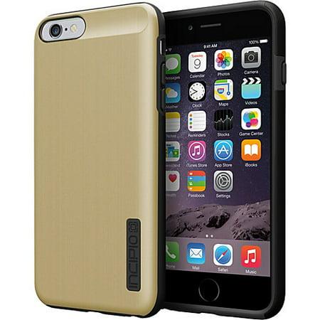 sale retailer 47920 1cc17 iPhone 6S Plus Case, Incipio DualPro SHINE [Shock Absorbing] Cover fits  Apple iPhone 6 Plus, iPhone 6S Plus - Gold/Black