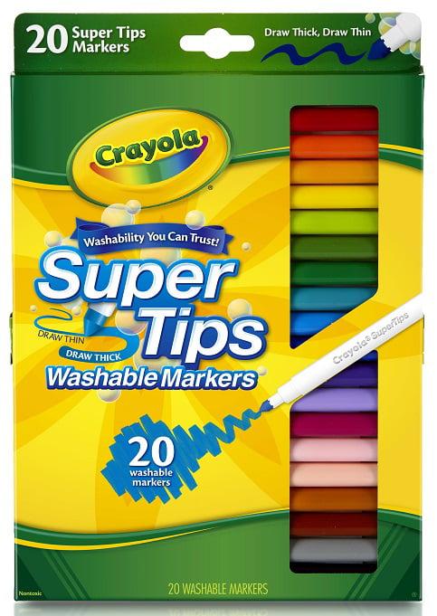 Crayola 20ct Supertip Markers by Crayola
