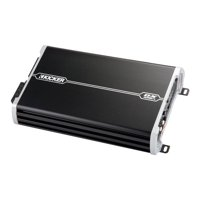 Kicker 43DXA250.4.-Watt 4-Channel Full-Range Car Amplifier