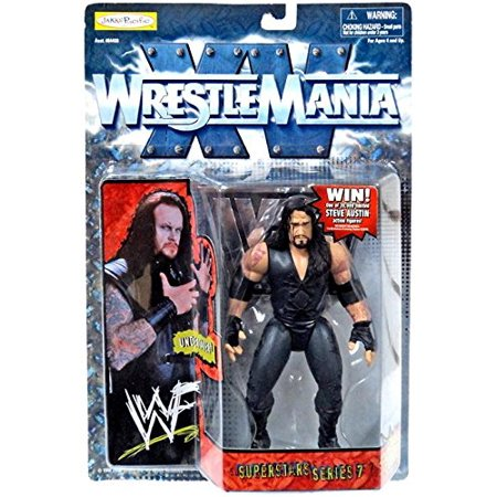 WWF WrestleMania XV: Undertaker, out of production figure By Wrestling From USA](Wrestling Masks For Sale)