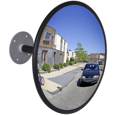 Convex Traffic Mirror Acrylic Black 12