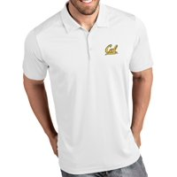 Antigua Men's Cal Golden Bears Tribute Performance White Polo
