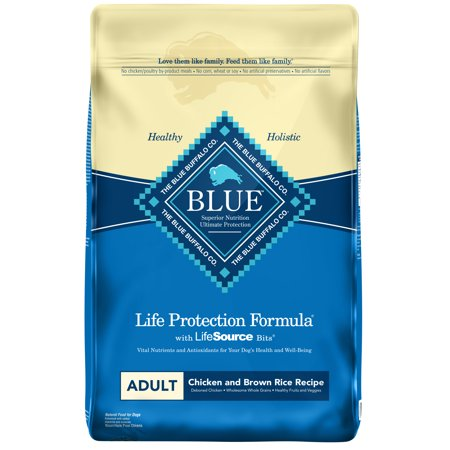 Blue Buffalo Life Protection Formula All Breeds Adult Dry Dog Food, Chicken and Brown Rice Recipe, - Chicken Life