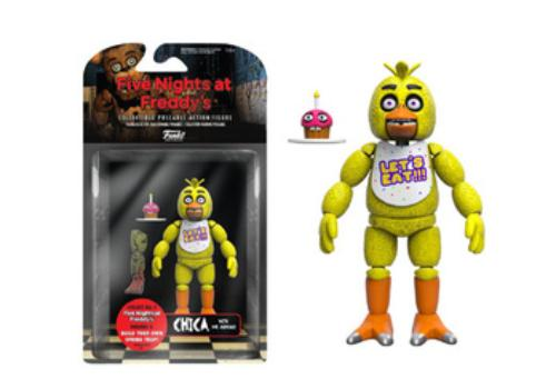 Articulated Action Figure: Five Nights at Freddy's, Chica