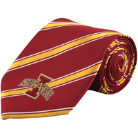Iowa State Cyclones Woven Poly Tie - No Size