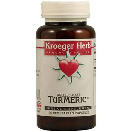 Kroeger Herb Turmeric Capsules  100 Ct