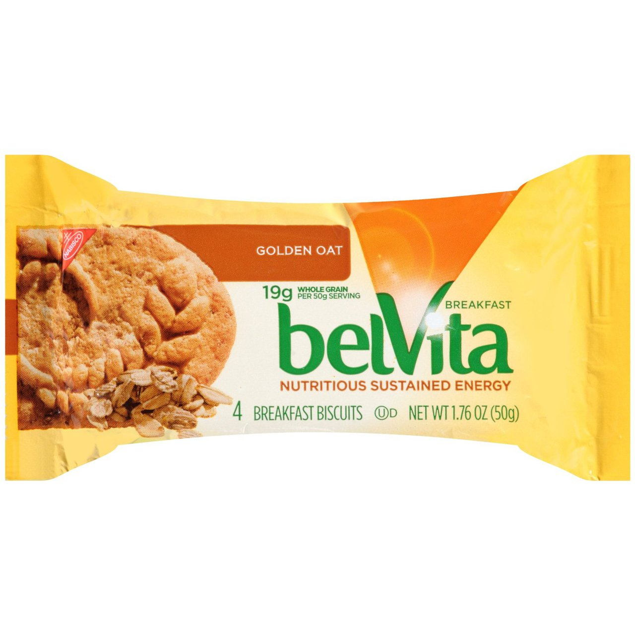 belVita Golden Oat Breakfast Biscuits 4 ct Wrapper