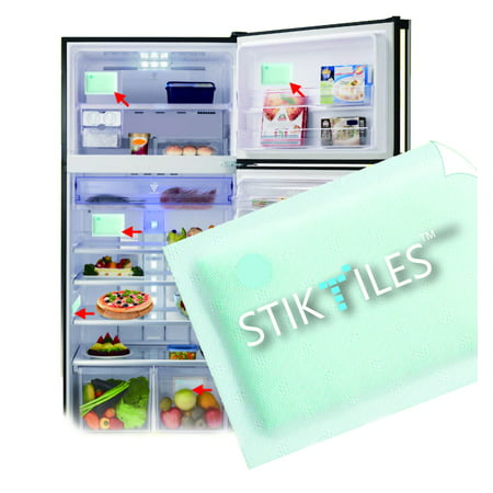 Easy Odor Eliminator StikTiles, Neutralize Refrigerator Odor Instantly - 8 month