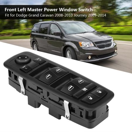 Sonew Master Window Switch, Power Window Switch,Front Left Master Power Window Switch for Dodge Grand Caravan 08-10 Journey 09-14 - Grand Caravan Front Window Regulator