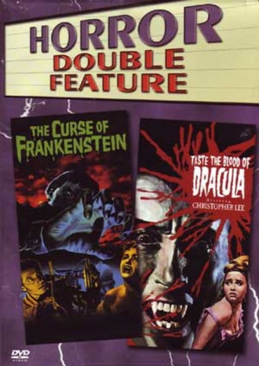 Curse of Frankenstein Taste the Blood of Dracula by TIME WARNER