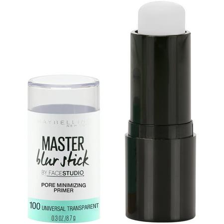 Maybelline Facestudio Master Blur Stick Primer 100 Universal Transparent - 0.3oz