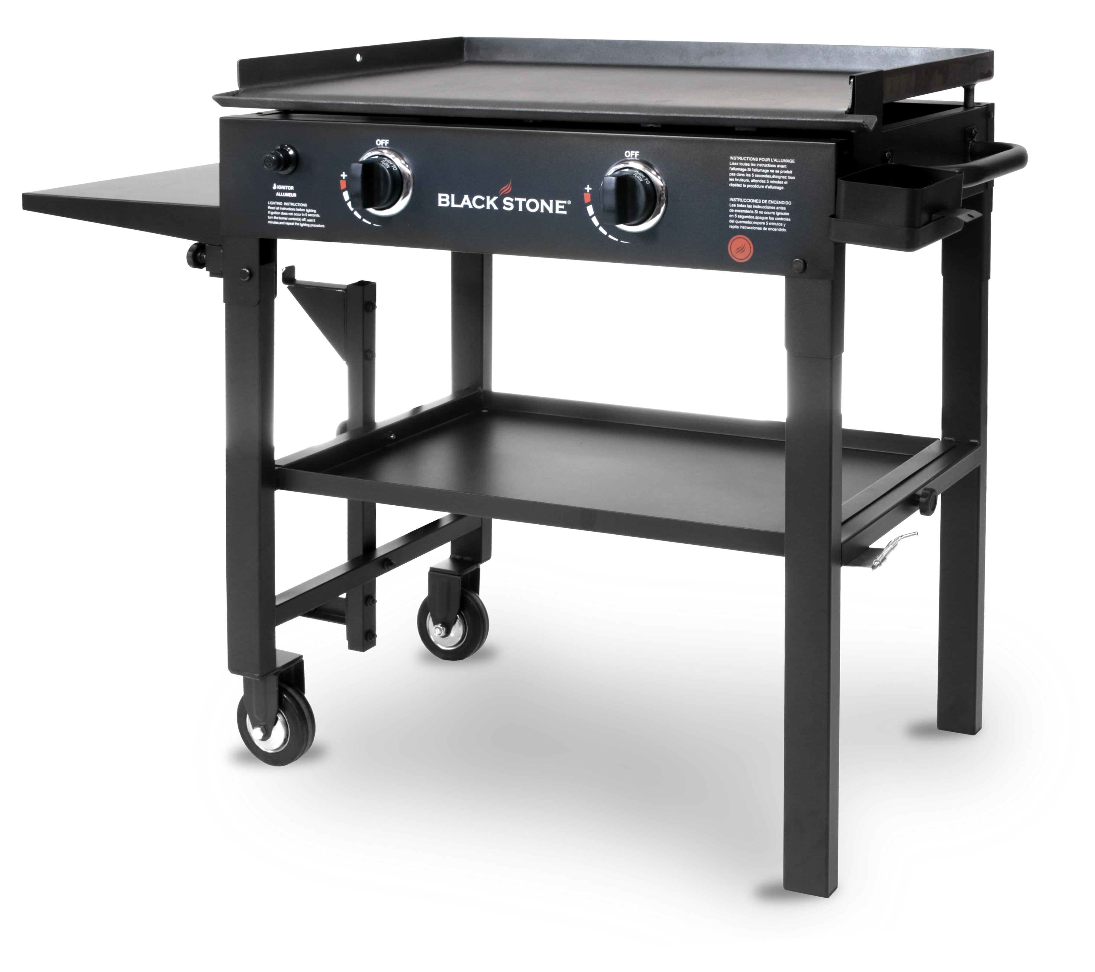 blackstone 28 inch outdoor flat top gas hibachi grill