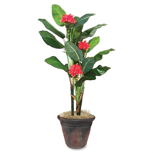 Glolite Nu-dell 7ft. Flowering Banana Tree T7763
