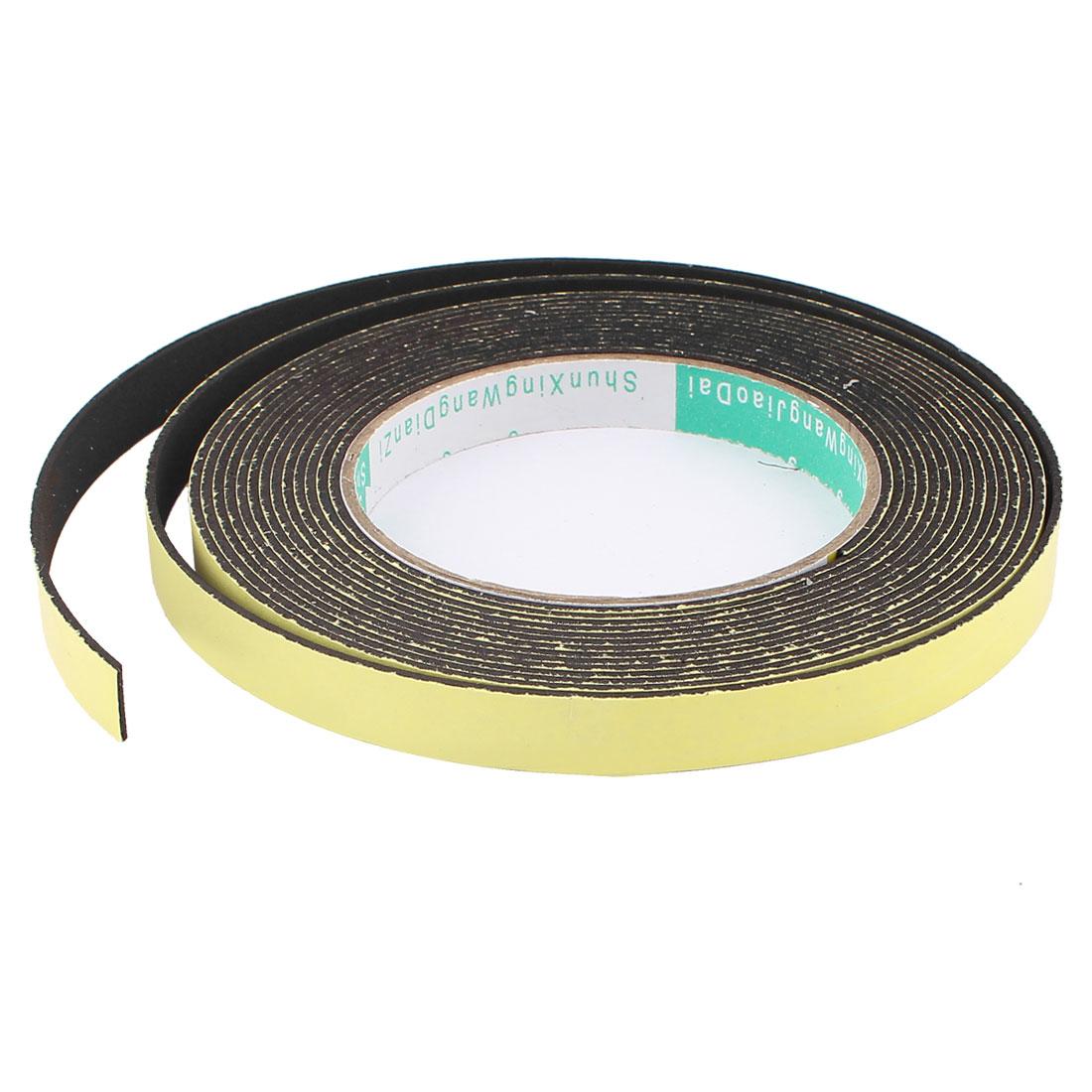 5M 12mm x 1.5mm Single Side Adhesive Foam Sealing Tape for Door Window - image 3 of 3