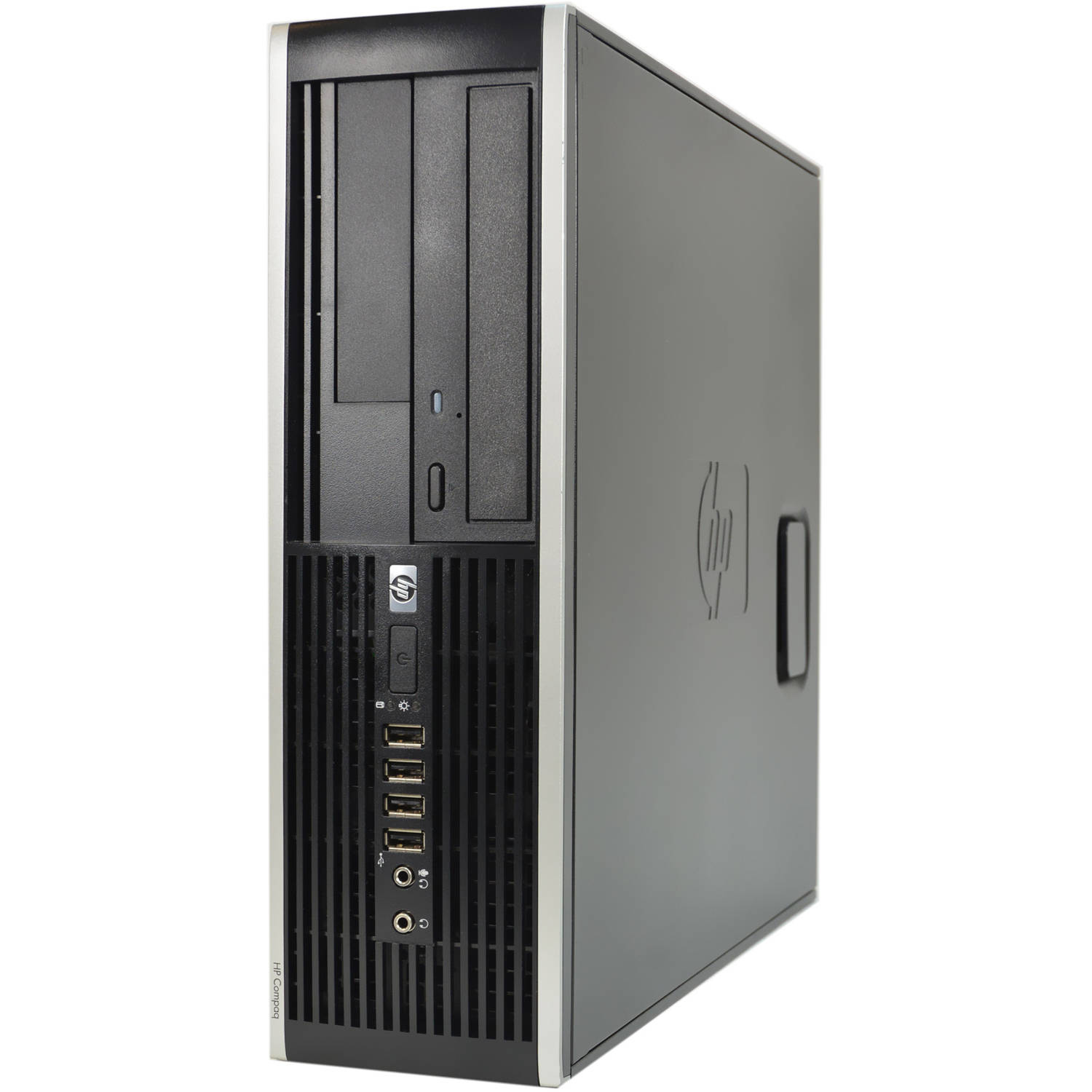 Refurbished HP Black 6005 Pro Desktop PC with AMD Atholon II X2 Processor, 4GB Memory, 750GB Hard Drive and Windows 10 Home (Monitor Not Included)