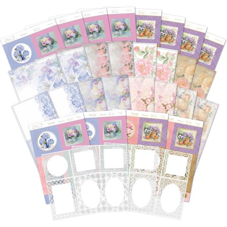 Hunkydory Filigree Frames Luxury Card Collection FGFRAME101, Floral Watercolours collection combines Hunkydory's popular card collections with the fantastic and.., By HunkyDory Crafts