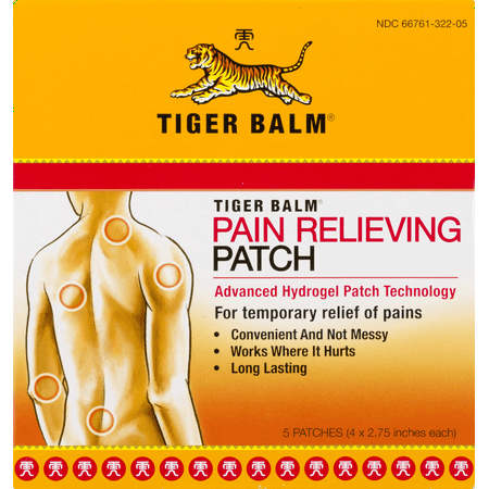Tiger Balm Tiger Balm Patch 5 Count