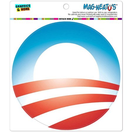 Obama Logo Automotive Car Refrigerator Locker Vinyl Magnet
