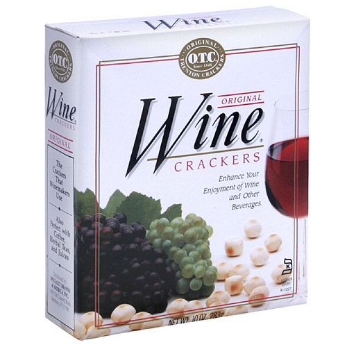 O.T.C. Original Wine All Natural Crackers, 10 oz  (Pack of 6)
