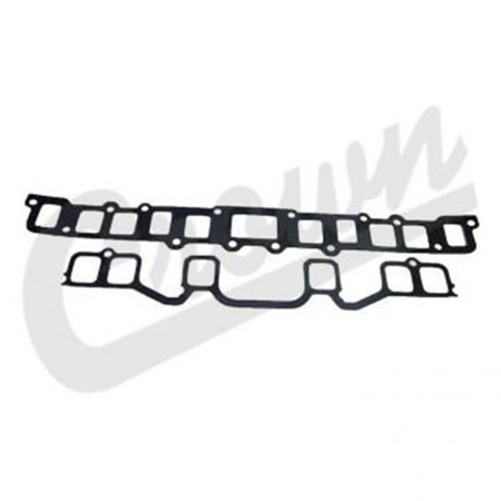 J3242855 1976-1986 Jeep CJ7 Exhaust Manifold Gasket, Black