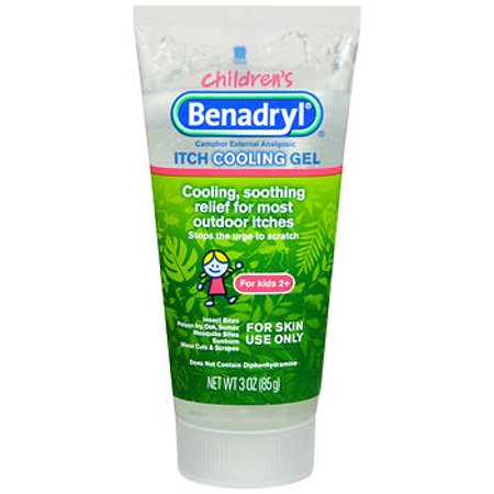 Children's Benadryl Itch Cooling Gel Itch Relief Ointment