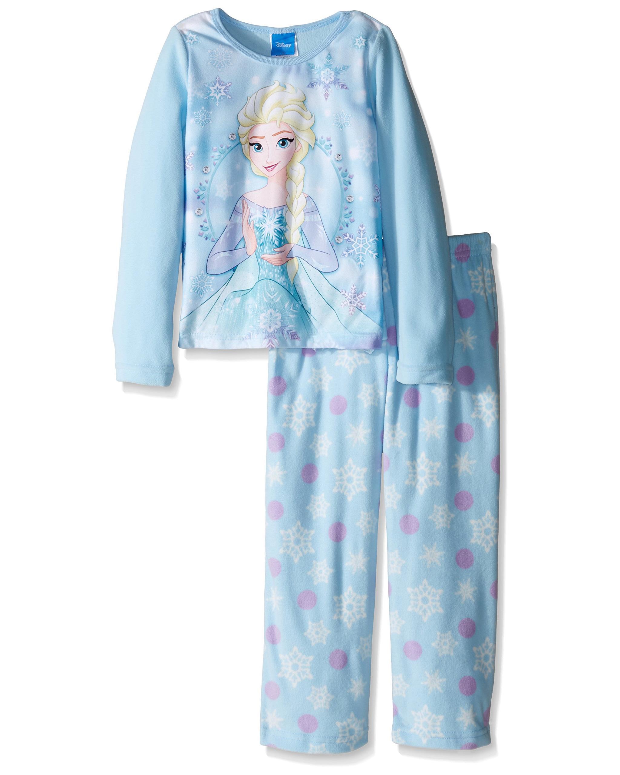 Disney Frozen Girls Elsa Two-Piece Pajamas
