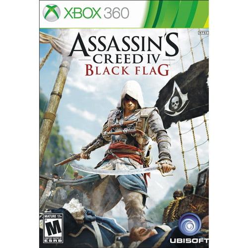 Ubisoft Assassin S Creed Iv Black Flag Xbox 360 Walmart Com