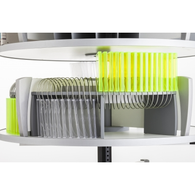 Moll CD Organizer for Spin & File Binder Storage Carousel CLCD EOS441500