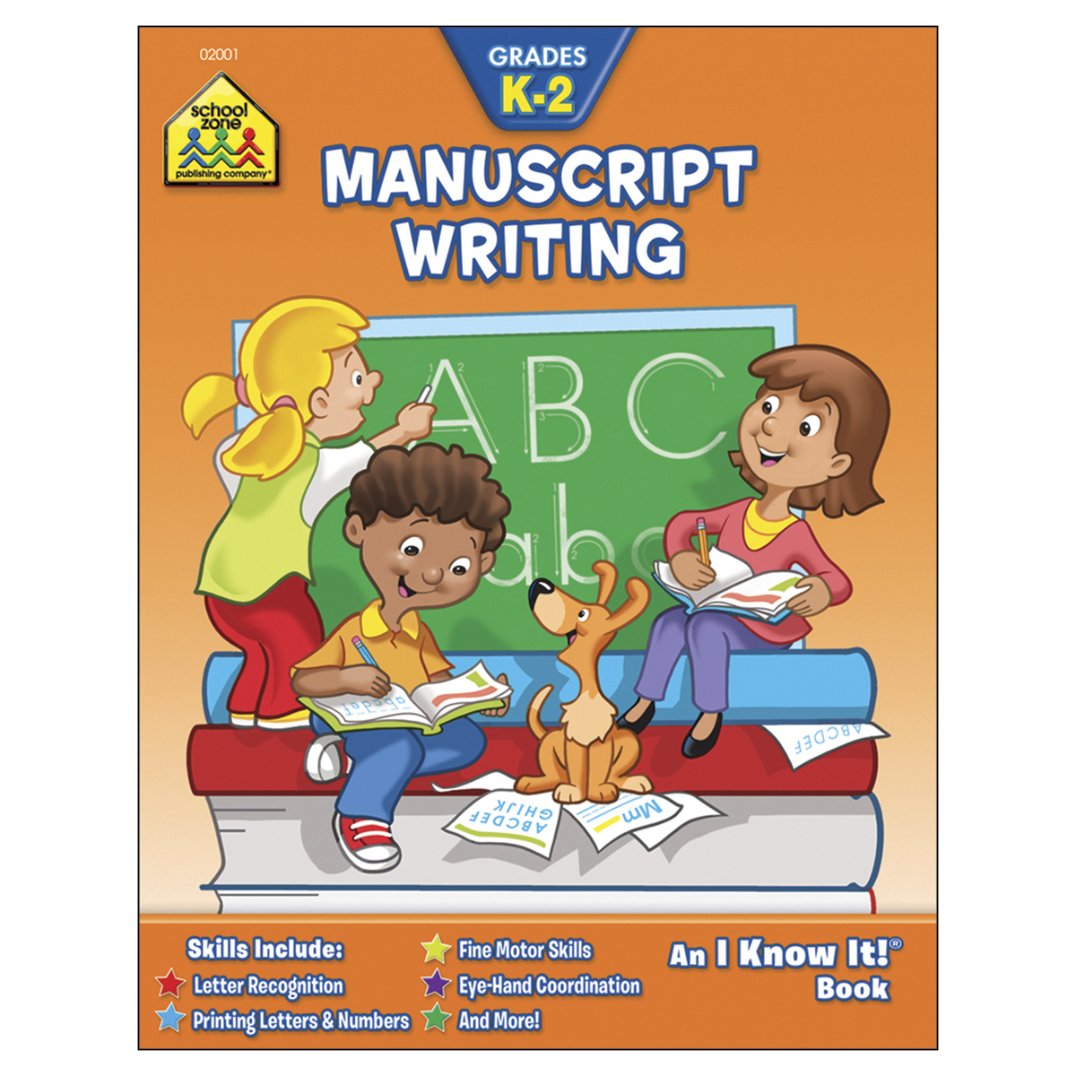 Curriculum Workbook-manuscript Writing - Grades K-2