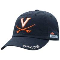 Virginia Cavaliers Top of the World 2019 NCAA Men's Basketball National Champions Adjustable Hat - Navy - OSFA