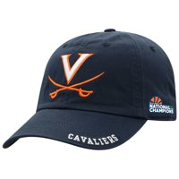 Virginia Cavaliers Top of the World 2019 NCAA Men's Basketball National Champions Adjustable Hat - Navy - OSFA