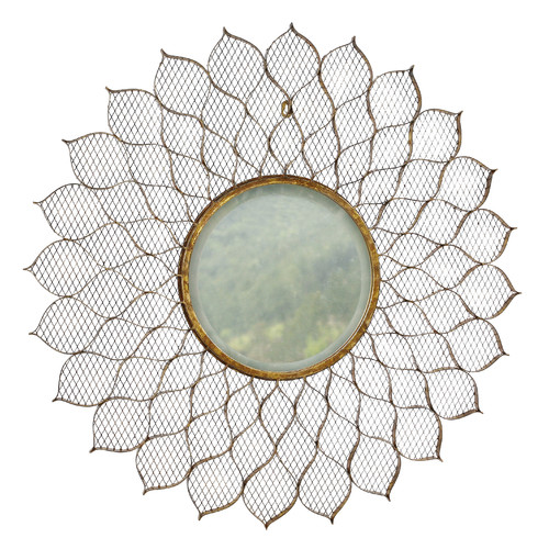Winward Designs Mesh Petal Flower Mirror