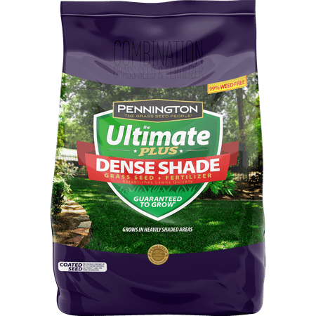 Pennington The Ultimate Plus Grass Seed and Fertilizer for Dense Shade Areas; 3 (Best Grass Seed For San Diego)