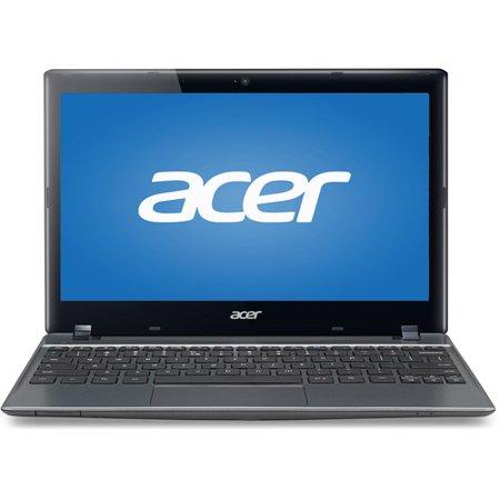 "Acer Chromebook Iron Gray C7 C710-2457 11.6"" Laptop PC with Celeron 847 Processor, 4GB Memory, 16GB SSD and Chrome OS"