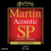 Martin Sp Series 80/20 Bronze Light Gauge Acoustic Strings