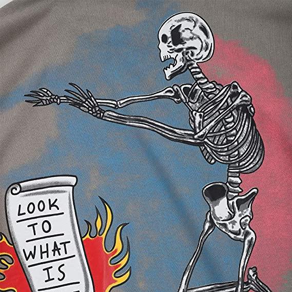 NAGRI Kanye I Am Loving Awareness Sweatshirt Graffiti Men Letter Print Sweatshirts Crewneck Hip Hop Streetwear Hoodie