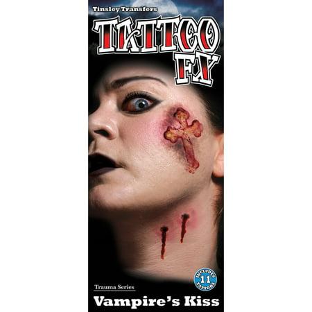 Vampire Bite Temporary Tattoos (Tinsley Transfers Temporary Tattoo - Vampire)